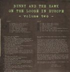 BENNY CARTER Benny Carter And Coleman Hawkins ‎: Benny And The Hawk On The Loose In Europe Vol.2 album cover