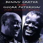 BENNY CARTER Benny Carter Meets Oscar Peterson album cover