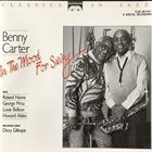 BENNY CARTER In The Mood For Swing album cover