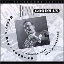 BENNY GOODMAN Benny's Bop 1948~49 With Wardell Gray & Stan Hasselgard album cover