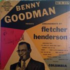 BENNY GOODMAN Fletcher Henderson Arrangements album cover