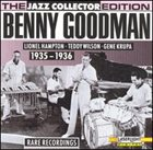 BENNY GOODMAN Rare Recordings: 1935-1936 album cover
