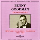 BENNY GOODMAN The Quintessence album cover
