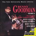 BENNY GOODMAN Yale Recordings, Volume 10: The Original Benny Goodman Quartet album cover