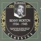 BENNY MORTON The Chronogical Classics: Benny Morton 1934-1945 album cover
