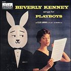 BEVERLY KENNEY Sings for Playboys album cover