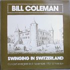 BILL COLEMAN Swingin' in Switzerland album cover