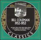 BILL COLEMAN The Chronological Classics: Bill Coleman 1952-1953 album cover