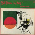 BILL DIXON Bill Dixon in Italy - Volume 1 album cover