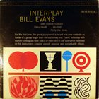 BILL EVANS (PIANO) Interplay album cover