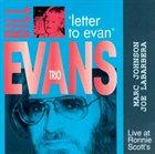 BILL EVANS (PIANO) Letter to Evan album cover