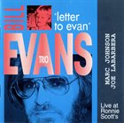 BILL EVANS (PIANO) Letter to Evan album cover