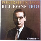 BILL EVANS (PIANO) Portrait In Jazz album cover
