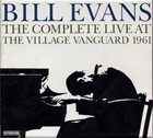 BILL EVANS (PIANO) The Complete Live at the Village Vanguard 1961 album cover