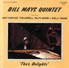 BILL MAYS Tha's Delights album cover