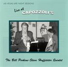 BILL PERKINS The Bill Perkins - Steve Huffsteter Quintet : Live at Capozzoli's album cover