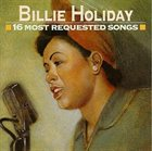 BILLIE HOLIDAY 16 Most Requested Songs album cover