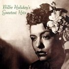 BILLIE HOLIDAY Greatest Hits album cover
