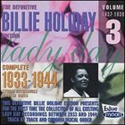 BILLIE HOLIDAY The Complete 1933-1944 Studio Recordings Master Takes, Volume 3: 1937-1938 album cover