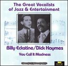 BILLY ECKSTINE You Call It Madness Disc 1 album cover