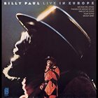 BILLY PAUL Live In Europe album cover