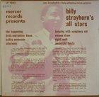 BILLY STRAYHORN Billy Strayhorn's All Stars album cover