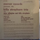 BILLY STRAYHORN Mercer Records Presents The Billy Strayhorn Trio album cover