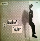 BILLY TAYLOR A Touch of Taylor album cover