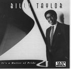 BILLY TAYLOR It's a Matter of Pride album cover