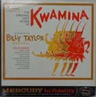 BILLY TAYLOR Kwamina album cover