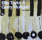 BILLY TAYLOR Live at Mcg album cover