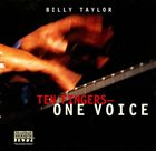 BILLY TAYLOR Ten Fingers - One Voice album cover