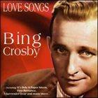 BING CROSBY Love Songs album cover