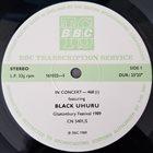 BLACK UHURU In Concert-468 album cover
