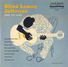 BLIND LEMON JEFFERSON Blind Lemon Jefferson Sings The Blues album cover