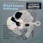 BLIND LEMON JEFFERSON The Folk Blues Of Blind Lemon Jefferson album cover