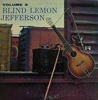 BLIND LEMON JEFFERSON Volume 2 album cover