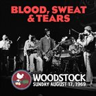 BLOOD SWEAT & TEARS Live At Woodstock album cover