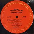 BLOOD SWEAT & TEARS More Than Ever album cover