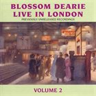 BLOSSOM DEARIE Live In London, Vol. 2 album cover