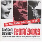 BLOSSOM DEARIE Sings Rootin' Songs album cover