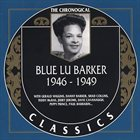 BLUE LU BARKER The Chronological Classics 1946-1949 album cover