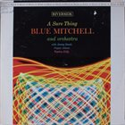 BLUE MITCHELL A Sure Thing album cover