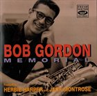 BOB GORDON (SAXOPHONE) Memorial album cover