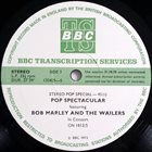 BOB MARLEY Bob Marley & The Wailers : Stereo Pop Special-45 (aka BBC College Concert #28 aka First Trip) album cover