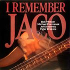 BOB MINTZER I Remember Jaco album cover