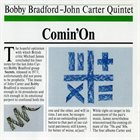 BOBBY BRADFORD Bobby Bradford / John Carter Quintet: Comin' On album cover