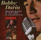 BOBBY DARIN Bobby Darin Sings the Shadow of Your Smile / In a Broadway Bag album cover