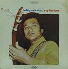 BOBBY VALENTIN Soy Boricua album cover
