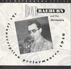 BOYD RAEBURN The Transcription Performances 1946 album cover